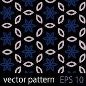 серый, синий и черный геометрические фигуры бесшовные шаблон набора бумаги записки — Cтоковый вектор