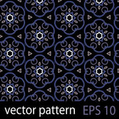 Grey,blue and black geometric figures seamless pattern scrapbook paper set — Stock Vector