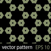 Grey and black geometric figures seamless pattern scrapbook paper set — Stock vektor