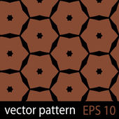 Brown geometric figures seamless pattern scrapbook paper set — Vetorial Stock
