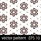 Grey and brown geometric figures seamless pattern scrapbook paper set — Stock Vector