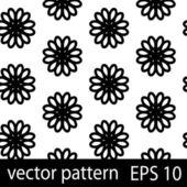 Figuras geométricas preto e brancas sem costura padrão conjunto de papel de scrapbook — Vetorial Stock