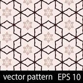 Rosa und schwarzen geometrische figuren nahtlose muster scrapbook-papier-satz — Stockvektor
