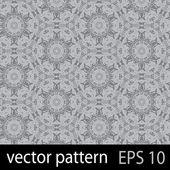 Grey geometric figures seamless pattern scrapbook paper set — Stock Vector