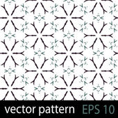 Black and white geometric figures seamless pattern scrapbook paper set — Stock Vector