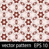 Pink geometric figures seamless pattern scrapbook paper set — Stock Vector