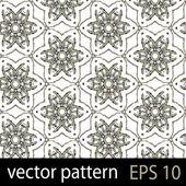 Grey and black geometric figures seamless pattern scrapbook paper set — Stock Vector