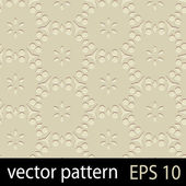 Brown geometric figures seamless pattern scrapbook paper set — Vettoriale Stock