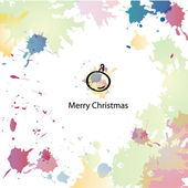 Beautiful Christmas ball — Stockvektor