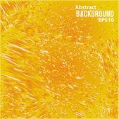 オレンジ色のジューシーな液体の抽象的な背景 — ストックベクタ