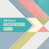 Abstract geometric background template — Stock Vector