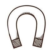 Magnet symbol. — Stock Vector