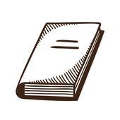 Book symbol. — Stock Vector