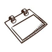 Calendar symbol. — Stock Vector