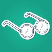 Doctor's glasses. — Stock vektor