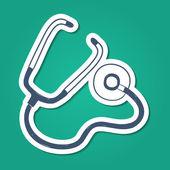 Stethoscope. — Stock Vector