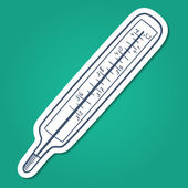 Thermometer. — Stockvector