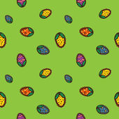Seamless Easter pattern. — Stock Vector