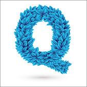 Q letter. — Stock Vector