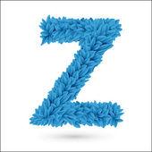 Z letter. — Stock Vector