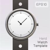 Wrist watch template. — Vettoriale Stock