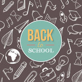 Welcome back to school. — Stock Vector