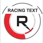 Racing symbol in vector style — Stock Vector #7391862