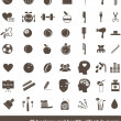 Hygiene and healthy lifestyle icons — Stockvector #16267165