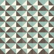Seamless retro abstract pattern in blue grey and brown — Stock Vector