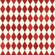 Seamless retro red harlequin background — Stok Vektör #16268917