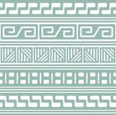 Sömlös retro mönster — Stockvektor