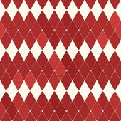 Seamless retro harlequin pattern — Stock Vector