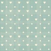Dikişsiz kalpler polka noktalı deseni — Stok Vektör