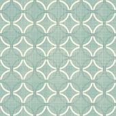 Retro blue circles seamless pattern — Wektor stockowy