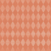 Abstract geometric seamless pattern in faded orange — Stock Vector