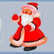 Vector de stock : Santa claus