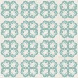 Vintage seamless pattern with Victorian motif — Stock Vector