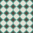 Seamless background with fabric texture in green and grey — Vecteur