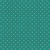 Seamless polka dot pattern with retro texture — Stockvector