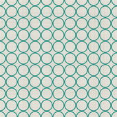 Seamless background with fabric texture in green and grey — Stockvector