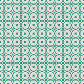 Seamless background with fabric texture in green and grey — Stock vektor