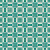 Seamless background with fabric texture in green and grey — Vettoriale Stock