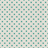 Seamless background with fabric texture in green and grey — Cтоковый вектор