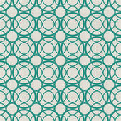 Seamless background with fabric texture in green and grey — Stok Vektör