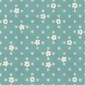 Cute flowers  seamless pattern — Stock Vector