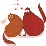 In love — Stock Vector #6658236