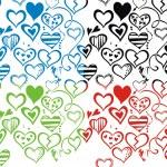 Love seamless pattern backdround — Stock Vector #6672506