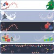 Xmas banners — Stockvector  #6672857