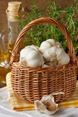 Garlic. — Stockfoto