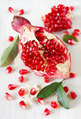 Fresh pomegranate. — Foto de Stock